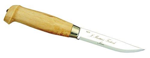 Marttiini Finnenmesser Tundra - Cuchillo de hoja fija, color incoloro