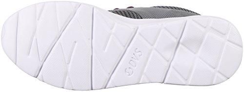 DVS Apparel - Premier 2.0, Sneaker Donna Grigio Teal Jacquard