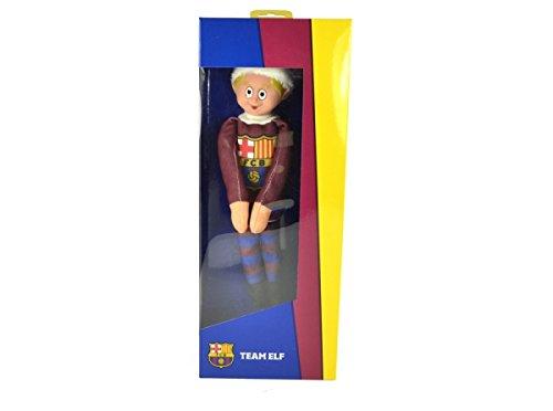 Elf auf dem Regal Kinder Spielzeug Santa Christmas Fußball Barcelona Beamten (Regal Santa)
