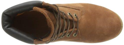 Timberland 6 in Premium FTB_6 in Premium Boot 6768R, Herren Stiefel Braun (Cognac Waterbuck)
