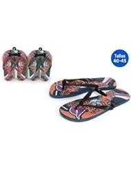 Aquapro Chaussures Plage Motif tigre marron