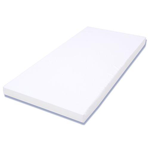 *SoftlySoft Kindermatratze Reisebettmatratze 60x120cm Weiß*