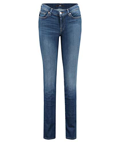 7 For All Mankind Damen Jeans Roxanne Slim Fit Blue (82) 26 -