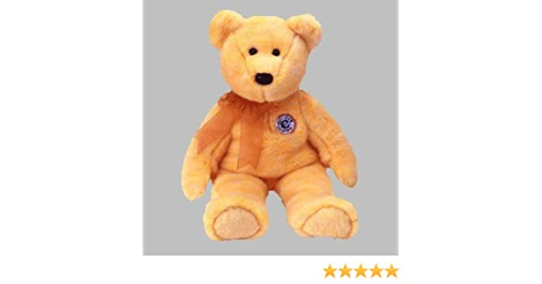 4184dd599b3 TY Beanie Buddy - Sunny Bear - e-Buddy  Amazon.co.uk  Toys   Games