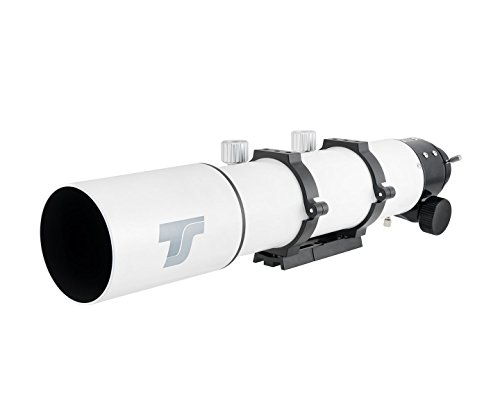 "TS-Optics Apochromatischer ED Refraktor 80/560 mm f/7 mit 2,5"" R&P Okularauszug, TSED80f7"