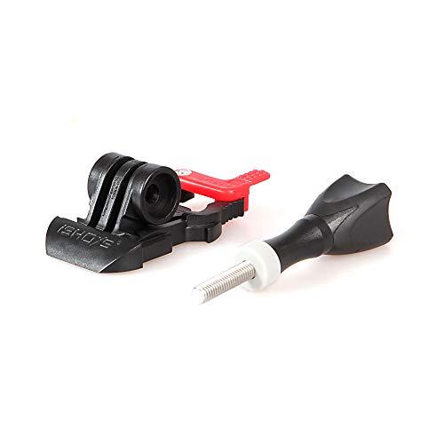 iSHOXS Pro Slider Flat - Flache Schnellspann-Schnalle mit Sicherungssystem passend für GoPro und kompatible Sport- und Action-Cams -