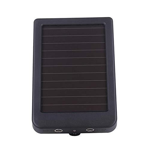 Blue-Yan Solar Panel Ladegerät Externe Stromversorgung für Jagdkamera 1500MAH IP54 -