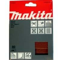 **U.K.IMPORT** 10er Pack MAKITA P-36407 80 Schleifpapier der K/örnung f/ür BO4553 Sander