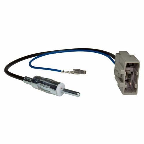 ACV 1512-01 Antennenadapter Nissan, GT13 (f) auf DIN (m) Mehrfarbig