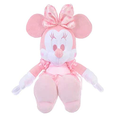 GYYCV Niedlichen Cartoon Rosa Kirschblüten Minnie Maus Plüschtier Weiche Stofftiere Puppen Kinder Spielzeug Für Mädchen Kinder Geburtstagsgeschenke 36 cm - Puppen Minnie Maus