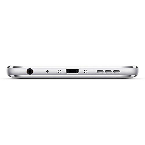 "Meizu M5 Note - Smartphone de 5.5"" (Octa-Core A53 1.8 GHz, memoria interna de 16 GB, 3 GB de RAM, HD 720p), Plateado/Blanco"