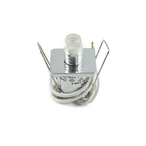 Power LED Sternhimmel Einbaustrahler Deckoleuchte LED Lichtpunkt 15er Sets Einbauspots G4 0,5W in verschiedenen Lichtfarben Warmweiß, Weiß und Blau inkl. Trafo (Lichtfarbe Warmweiß)