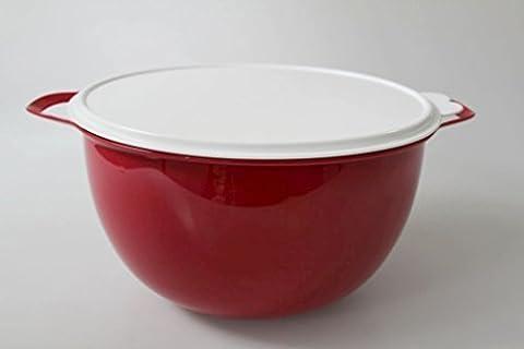 TUPPERWARE Maxi Bol XL 10,0 L rouge blanc