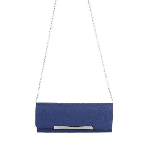 Taschen Schultertasche Abendtasche Blau