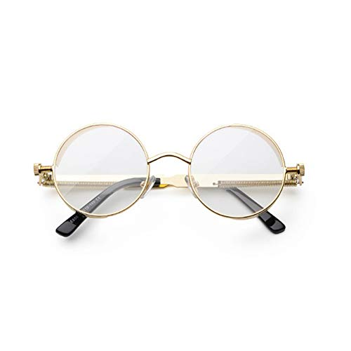 Kjwsbb runde Sonnenbrille männer Vintage BrilleBrille für Frauen Sommer