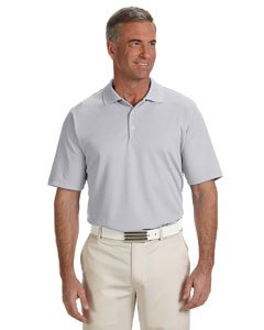 adidas Golf Mens Climalite® Solid Polo (A170) -Chrome -2XL -