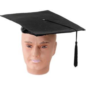Mortar Board PVC Budget Hat