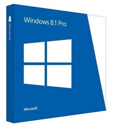 Microsoft Windows 8.1 Pro 64 bit, Versione completa, Edizione DVD OEM (Original Equipment Manufacturer)