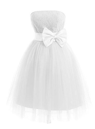 Missdressy - Robe - Trapèze - Femme Blanc - blanc