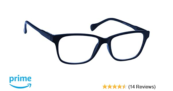 6f5ab5be93 Navy Blue Lightweight Near Short Sighted Distance Glasses for Myopia  Designer Style Mens Womens Spring Hinges M27-3 -2.00