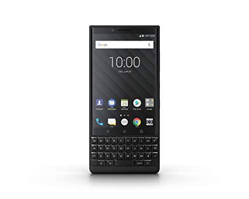 Blackberry Key 2 Athena Dual SIM Smartphone - Negro de 4,5' FHD, 4G, 12MPx + 12MPx y Frontal 8MPx, 6GB de RAM, 128GB de Memoria, Batería 3500 mAh, GPU Adreno 512, Versión Española