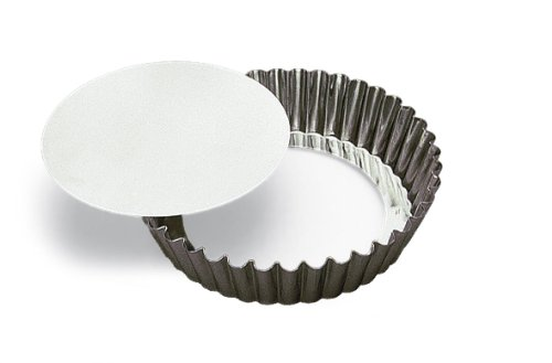 Matfer Extra Deep scanalata Quiche Tin - rimovibile diametro di