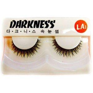 Darkness False Eyelashes LA2 by False Eyelashes