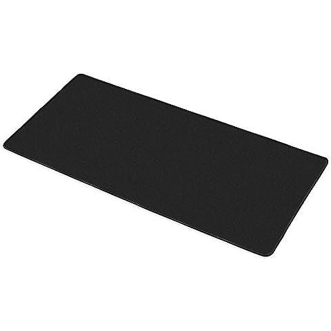 TRIXES XXL Alfombrilla antideslizante para ratón de color negro 900x440mm