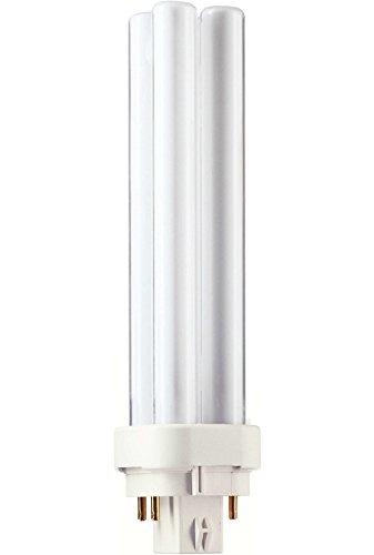Philips - Lampadina PL-C 18 Watt, luce bianca extra calda