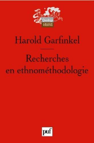 Recherches en ethnométhodologie
