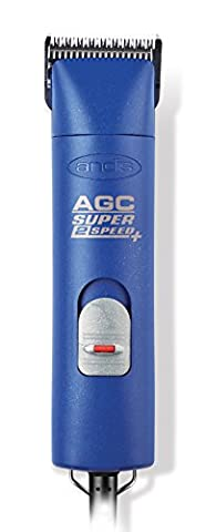 Andis UltraEdge AGC Super 2-Speed Detachable Blade Clipper, Professional Animal Grooming, AGC2