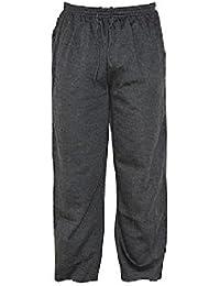f8a8e3fbf9 Fleece Jogginghose für Herren, zwei Seitentaschen und einer Gesäßtasche mit  Reißverschluss, Größen: S…