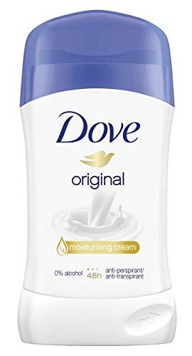 Dove Original Anti-Transpirant, Deostick, 6er Pack (6 x 40 ml)