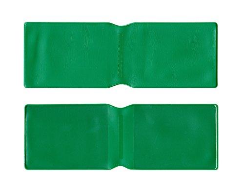 Kunststoff-Kreditkartenhülle, 1Stück, Grün