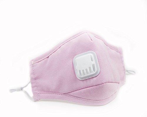 chrislz-2-pcs-pink-pm25-activated-carbon-linen-anti-haze-dust-masks-with-exhale-valve