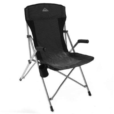 McKINLEY Deluxe Camp-Stuhl, Grau, One Size