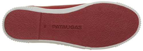 Pataugas Baher, Baskets Basses Femme Rouge (Rouge)