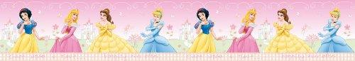 Original Disney Princess Prinzessinen Borte Bordüre L 5 M x B 11 cm Wanddekoration NEU Selbstklebend