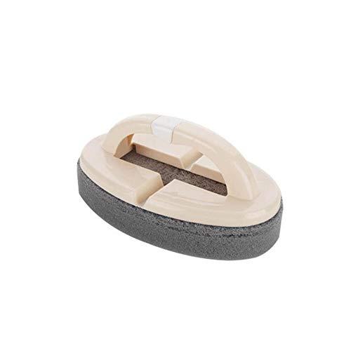BESTLLE Home Plastique Baignoire À Main Tuile Céramique Verre WC Brosse Éponge Eponge avec poignée éponge Cuisine Brosse De Nettoyage 8.5 14 2.2cm