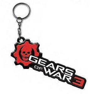 Of War Schlüsselanhänger Gears (Gears of War Schlüsselanhänger Logo, Metall)