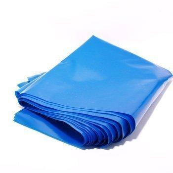 5 x Resistente Resistenti Blu 100 Litri Giardino Sacco Di Macerie Scarico Costruttori Buste