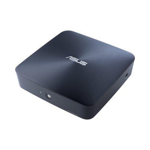 Asus Barebone UN45-DM183M Mini Desktop PC (Intel Celeron N300, Intel HD Graphics, lüfterlos, ohne Speicher) midnight blue -