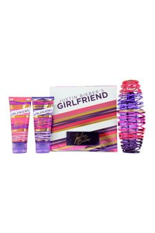 "Girlfriend "", motivo: Justin Bieber, Set regalo da donna, confezione regalo, JBGGS292621310 Spray"