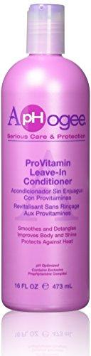 ApHogee Après-Shampooing aux Provitamin sans Rinçage 473 ml