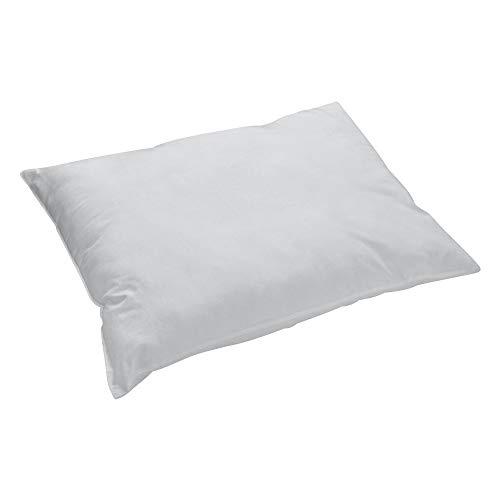 PRIMERA first sleepware Perkal Kissenbezug 40x80 cm 100% Baumwolle - grau Oekotex Uni einfarbig - passend zu Bettwäsche Basic-Design grau -