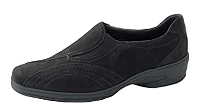 Mesdames Slipper ara 'Bolzano-Gest' Référence 12-40242-06 noir taille 37,5 à 41,5, Damen Größen:6 (39);Farben:schwarz