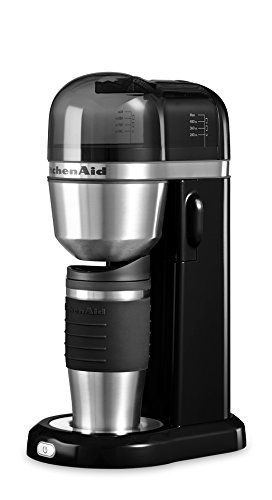 Kitchenaid 5KCM0402EOB Kaffeemaschine, schwarz (Kaffeemaschine Filter Kitchen Aid)