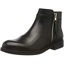 Geox JR Agata C, Bottines Fille, Noir (Black C9999), 35 EU
