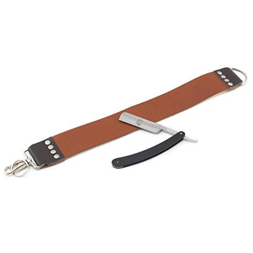 Rusty Bob - Steel String-ceinture Razor inoxydable dans un ensemble complet - sans Arko Savon de rasage et sans blaireau - Set 6