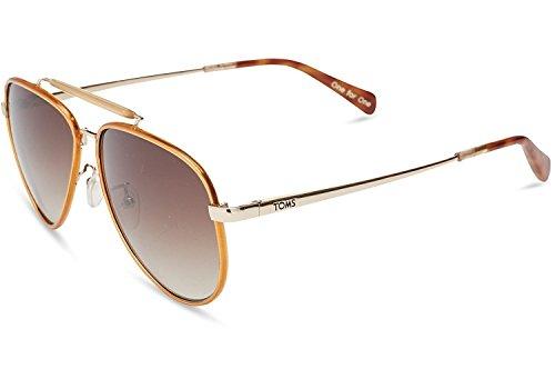 Toms Sonnenbrille Maverick 401 Sand Crystal Wrap / Brown Gradien